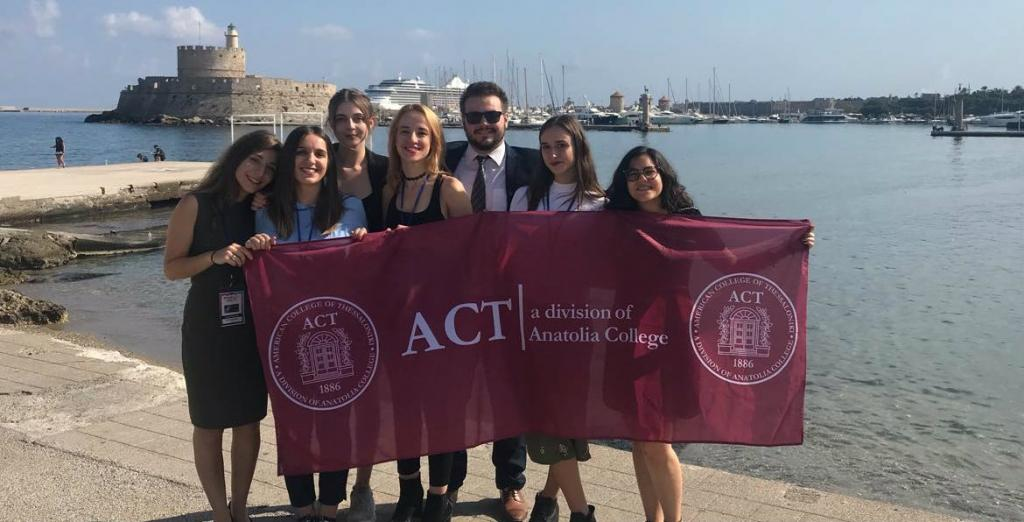 ACT delegation in Rhodes MRC 2018