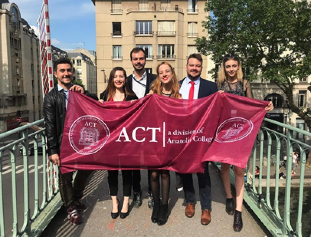 ACT MUN shows at Paris International Model United Nations Conference!