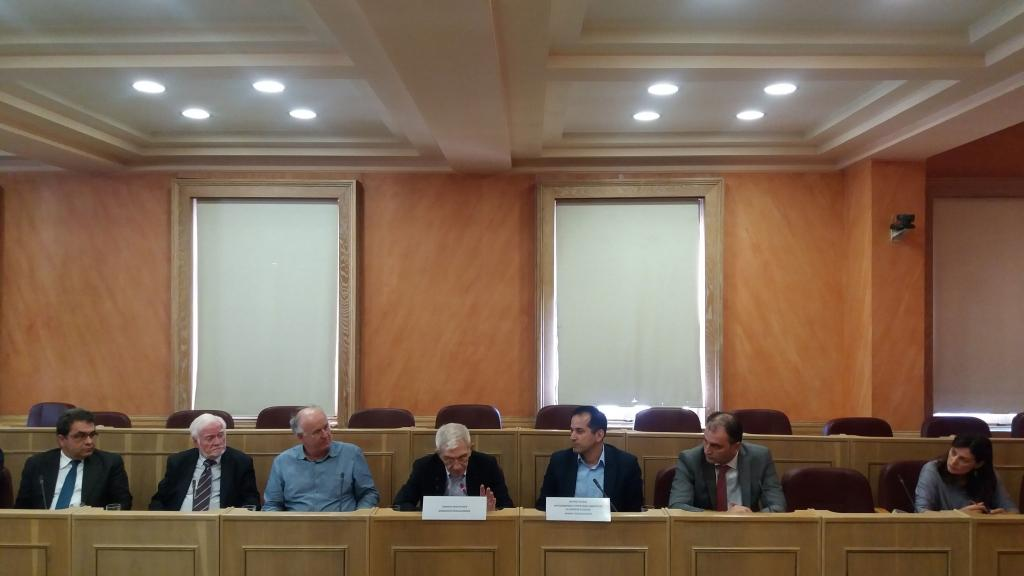 "ACT at the ""Study in Thessaloniki"" press conference"