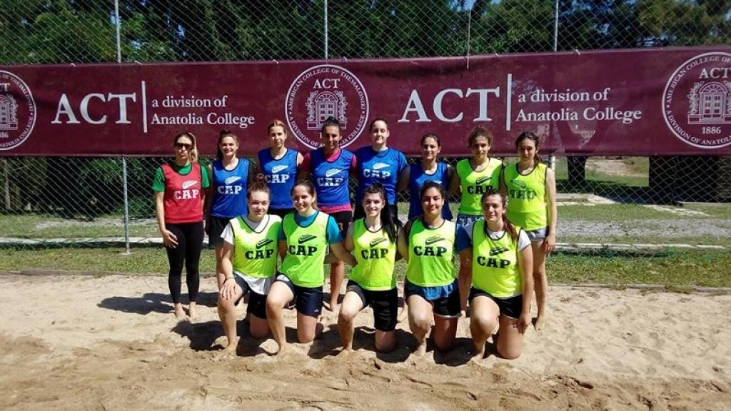 ACT hosted the Greek National Teams of Beach Handball