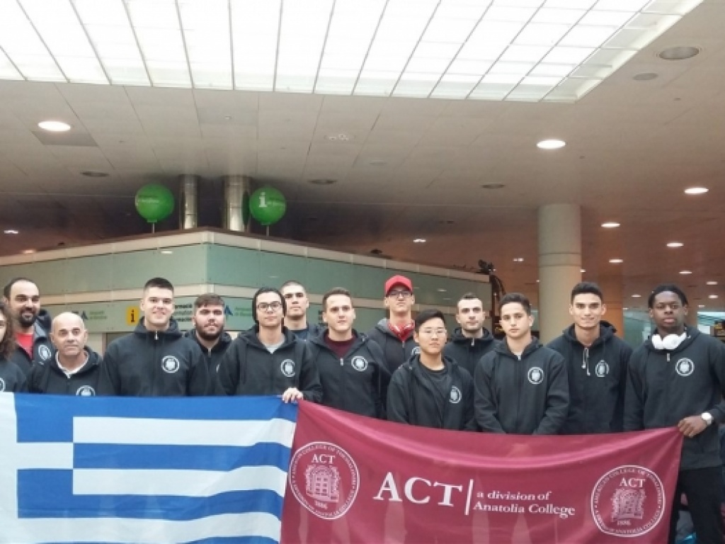 ACT Men's Basketball team in the 4th World Universities International Championships