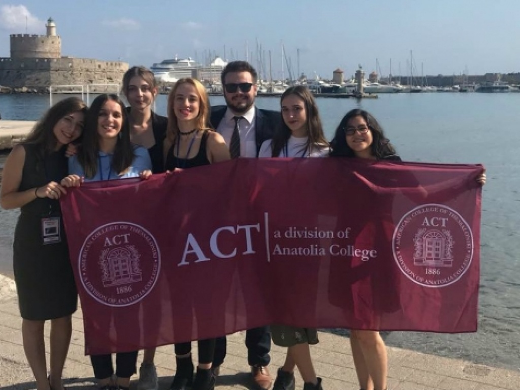 ACT delegation in Rhodes MRC 2018