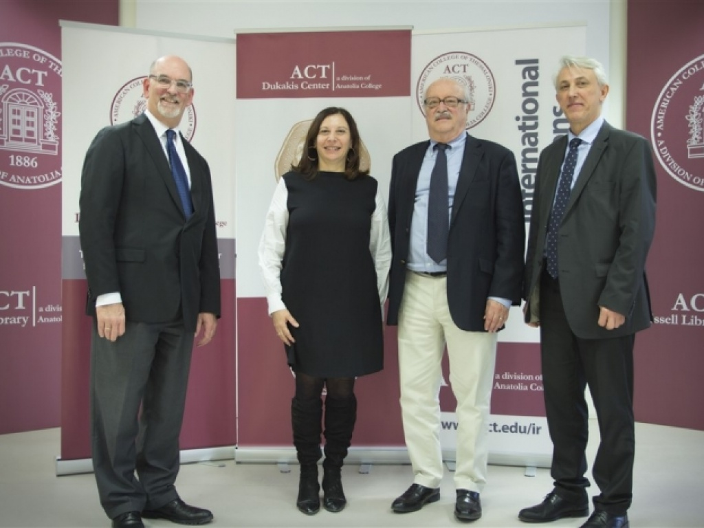 ACT hosts renowned historian Thanos Veremis