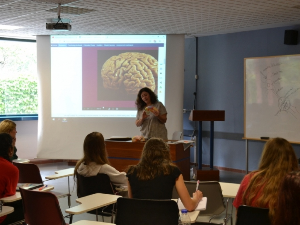 "Guest speakers for ACT's lectures on ""Brain and Behavior"""