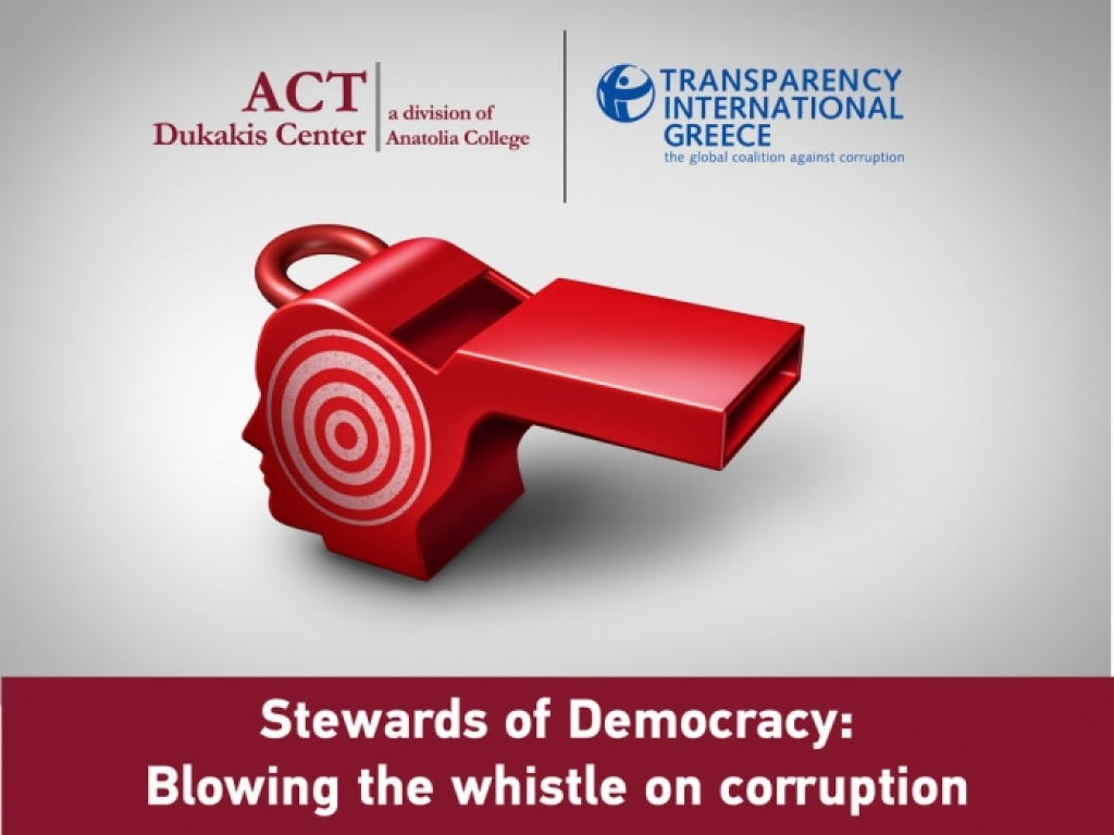 Stewards of Democracy: Blowing the whistle on corruption