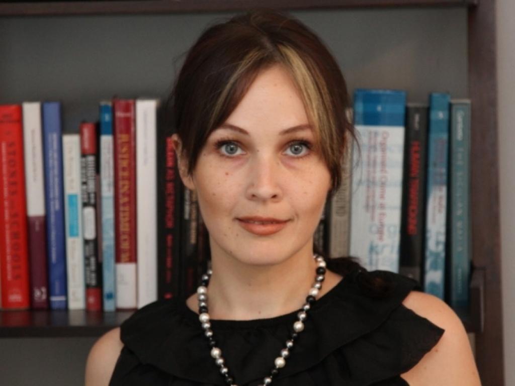 Jana Arsovska ACT '03. Spotlight on this year's Commencement speaker